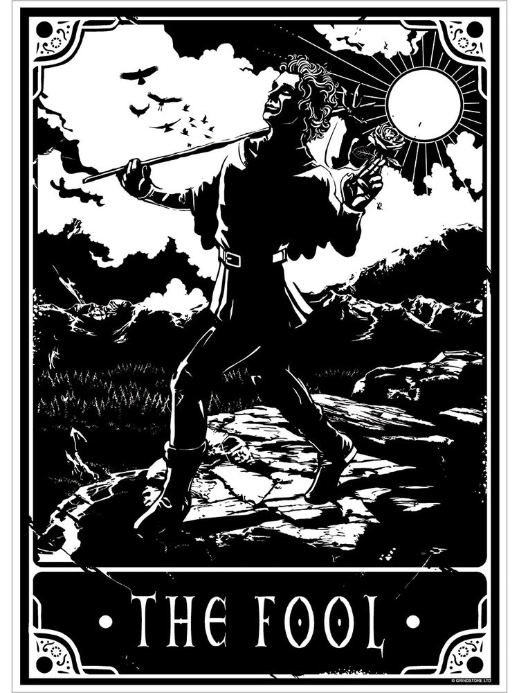 Deadly Tarot - The Fool Mini Poster