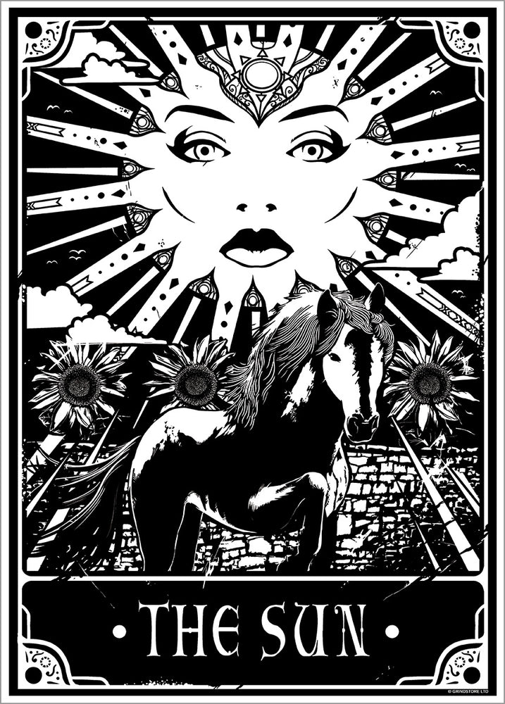 Deadly Tarot - The Sun Mini Poster