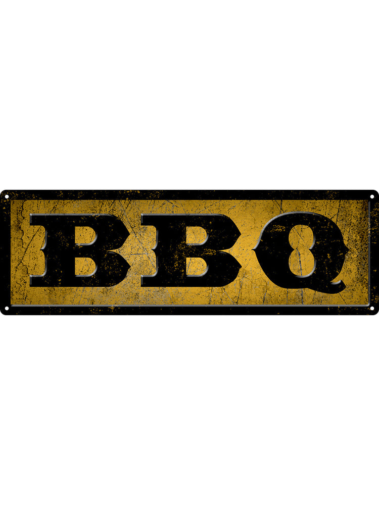 BBQ Slim Tin Sign