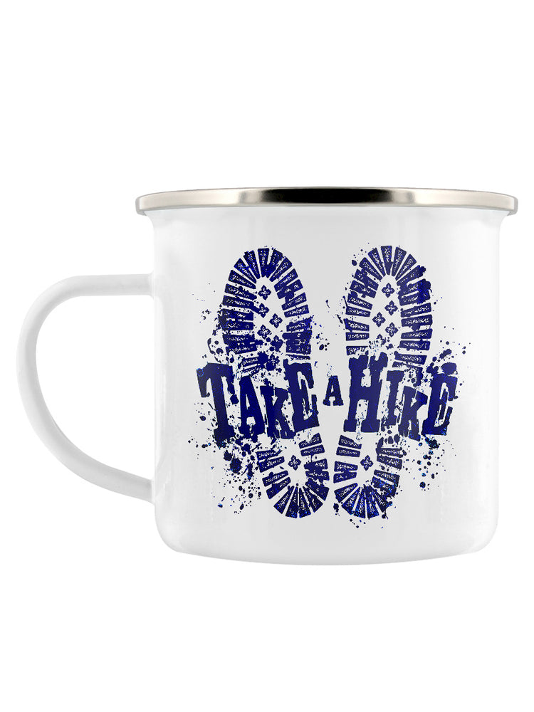 Take A Hike Enamel Mug