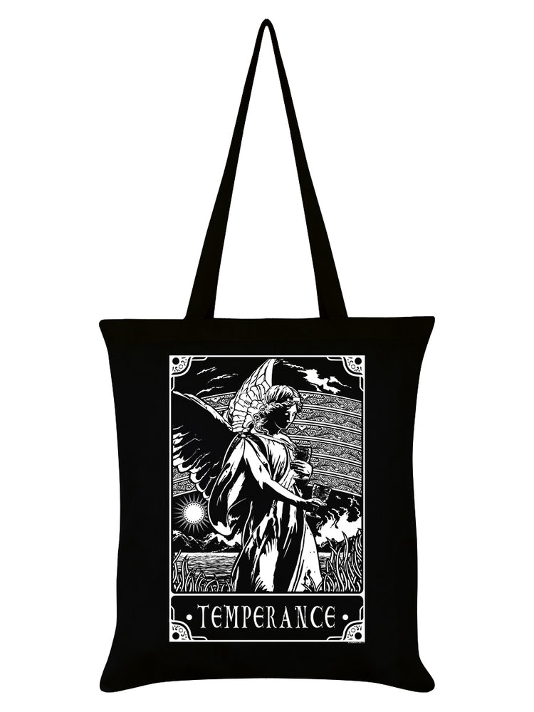 Deadly Tarot - Temperance Black Tote Bag