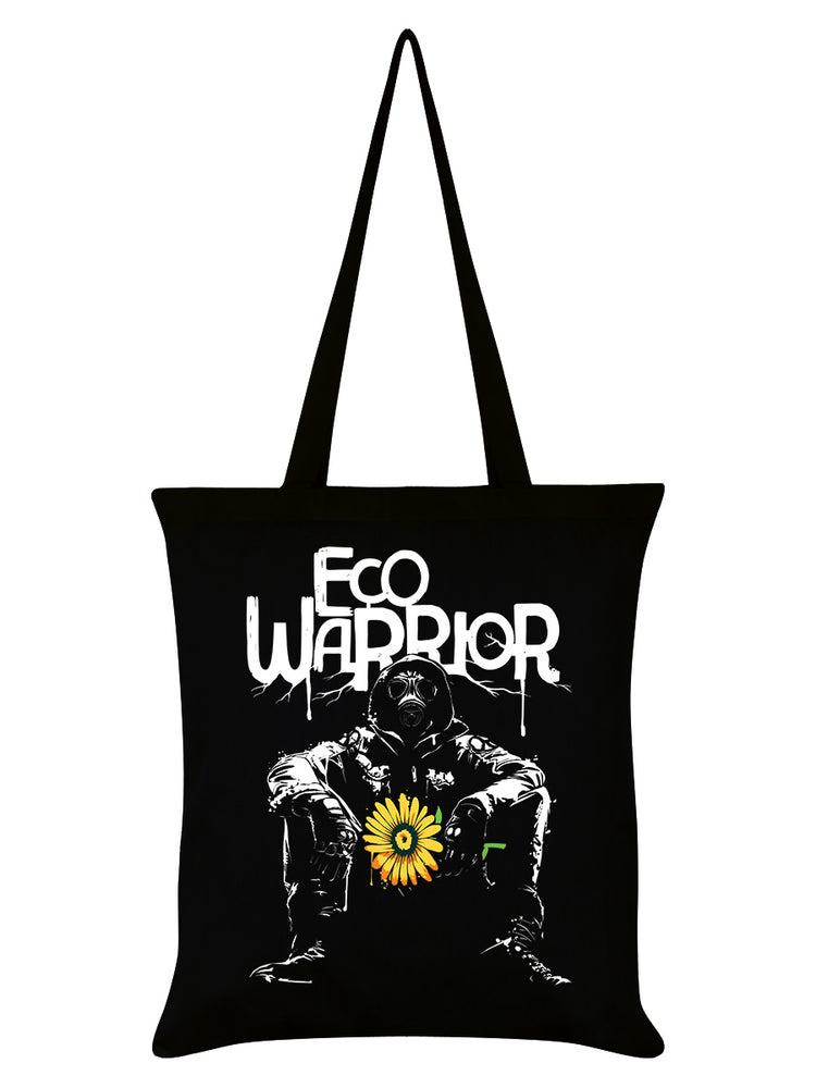 Eco Warrior Black Tote Bag