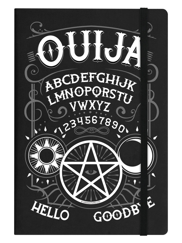 Ouija Spirit Board Black A5 Hard Cover Notebook