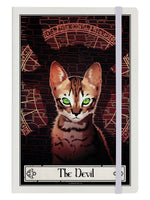 Deadly Tarot Felis - The Devil Cream A5 Hard Cover Notebook