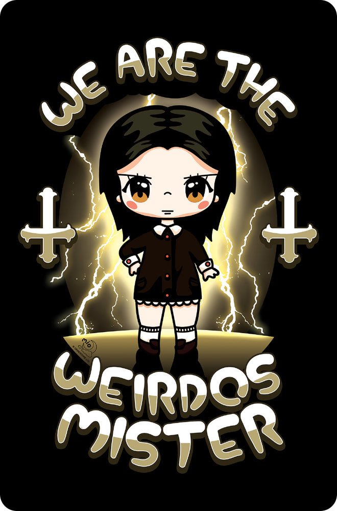 Mio Moon We Are The Weirdos Mister Small Tin Sign