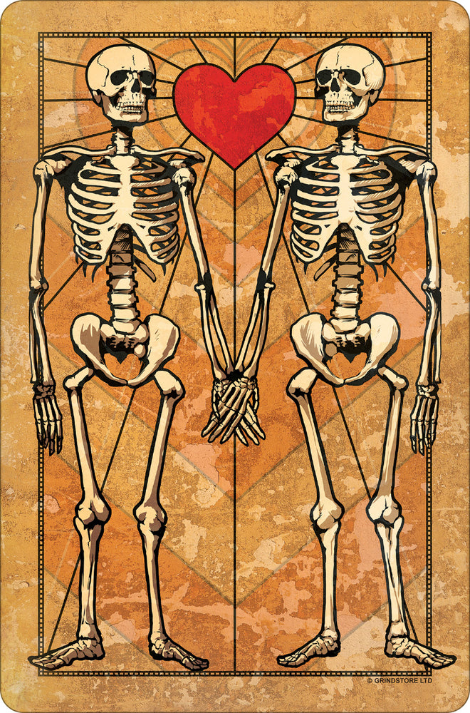 Eternal Love Small Tin Sign
