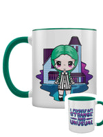 Mio Moon I Myself Am Strange & Unusual Green Inner 2-Tone Mug
