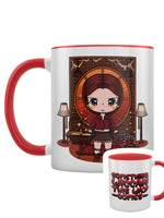 Mio Moon Something Wiccan This Way Comes Red Inner 2-Tone Mug
