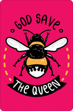 God Save The Queen Small Tin Sign
