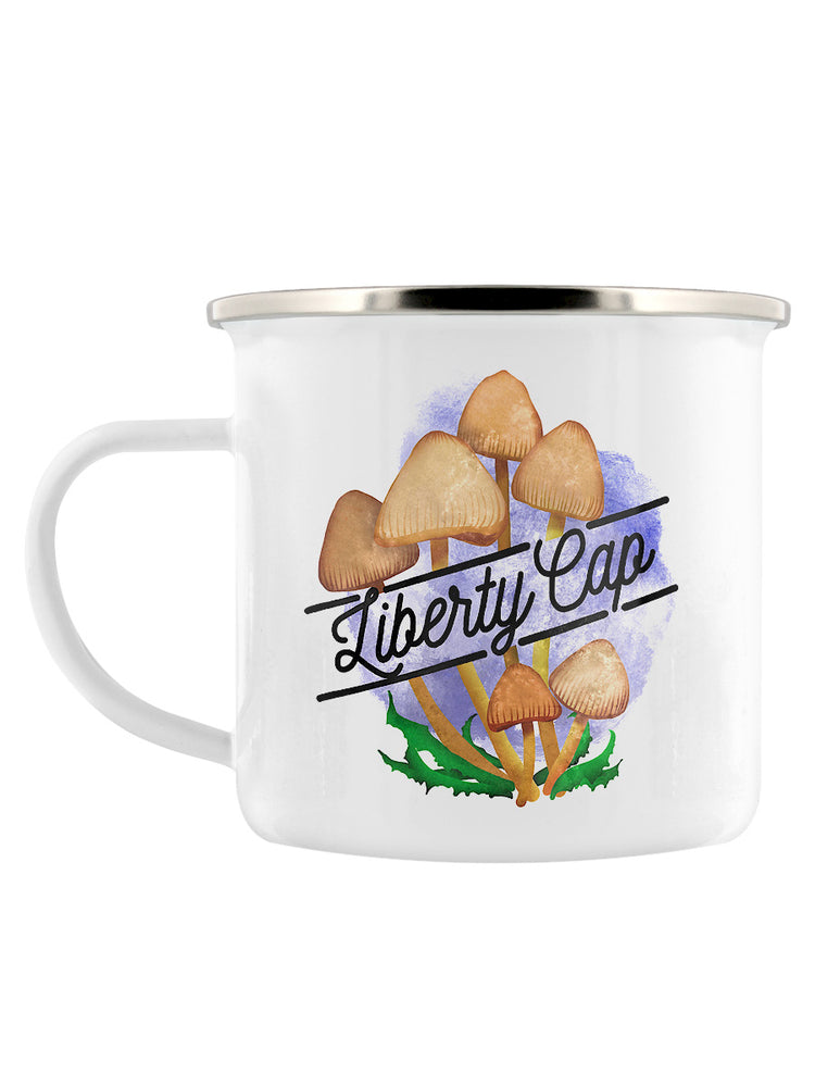 Deadly Detox Liberty Cap Enamel Mug