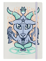 Peace, Love and Satan Cream A5 Hard Cover Notebook