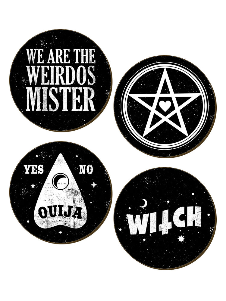 We Are The Weirdos Mister 4 Piece Coaster Set