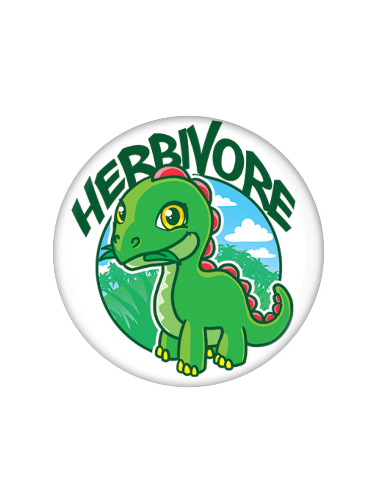 Herbivore Vegan Vegetarian Badge