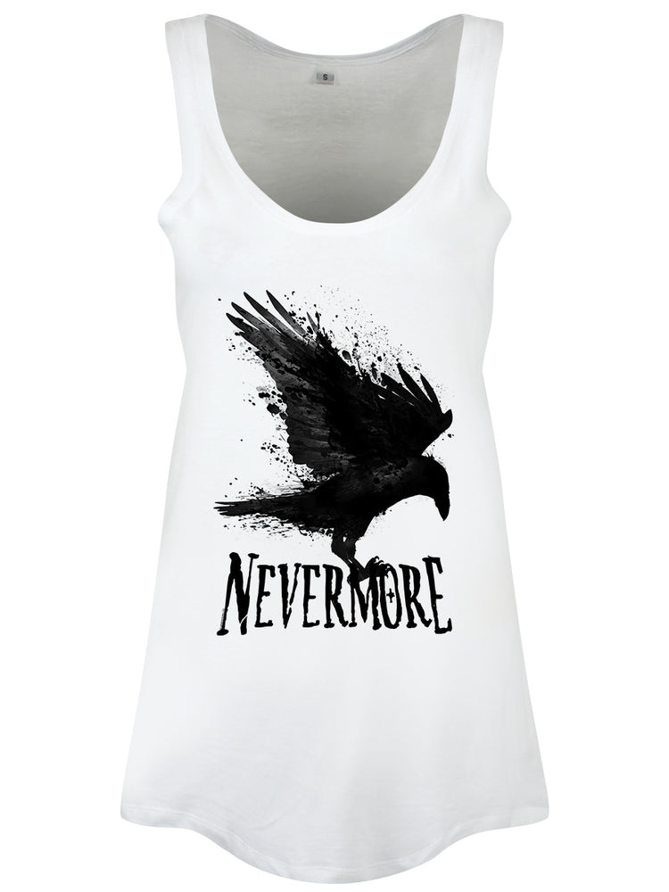 Nevermore Ladies White Floaty Vest