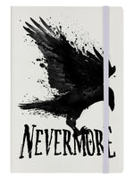Nevermore Cream A5 Hard Cover Notebook
