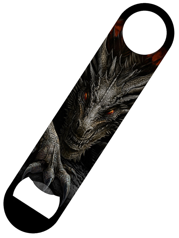 Spiral Majestic Dragon Bar Blade Bottle Opener