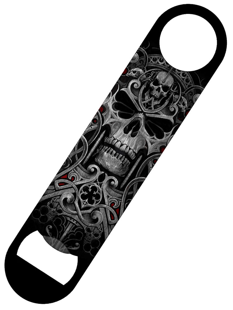 Spiral Reapers Door Bar Blade Bottle Opener