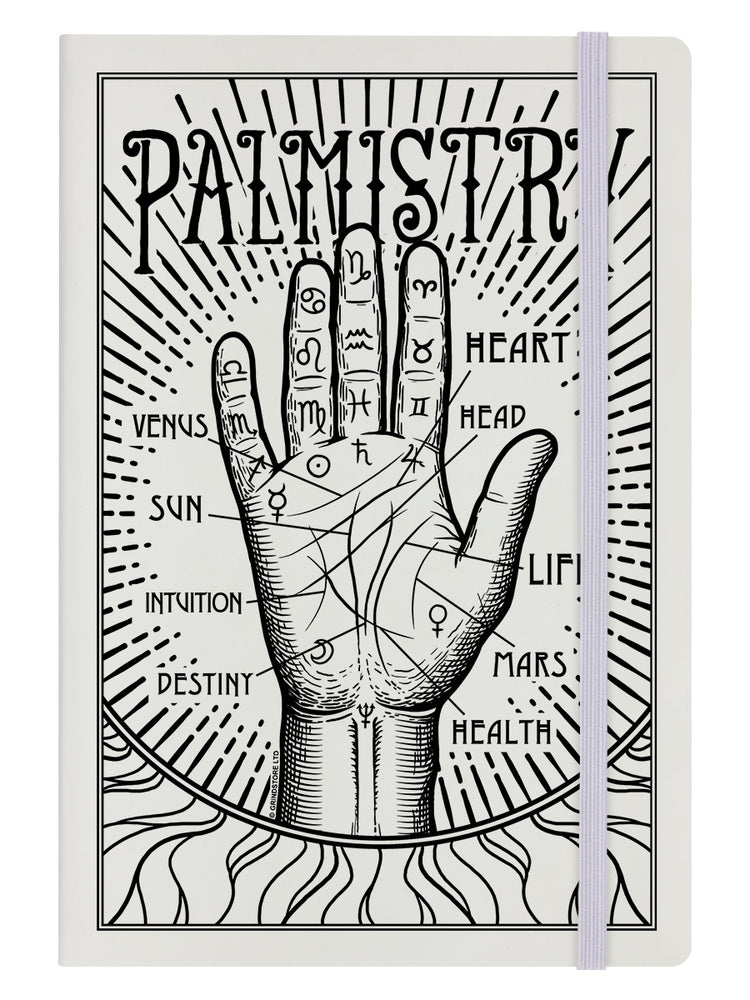 Palmistry Cream A5 Hard Cover Notebook