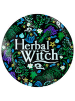 Herbal Witch Glass Chopping Board