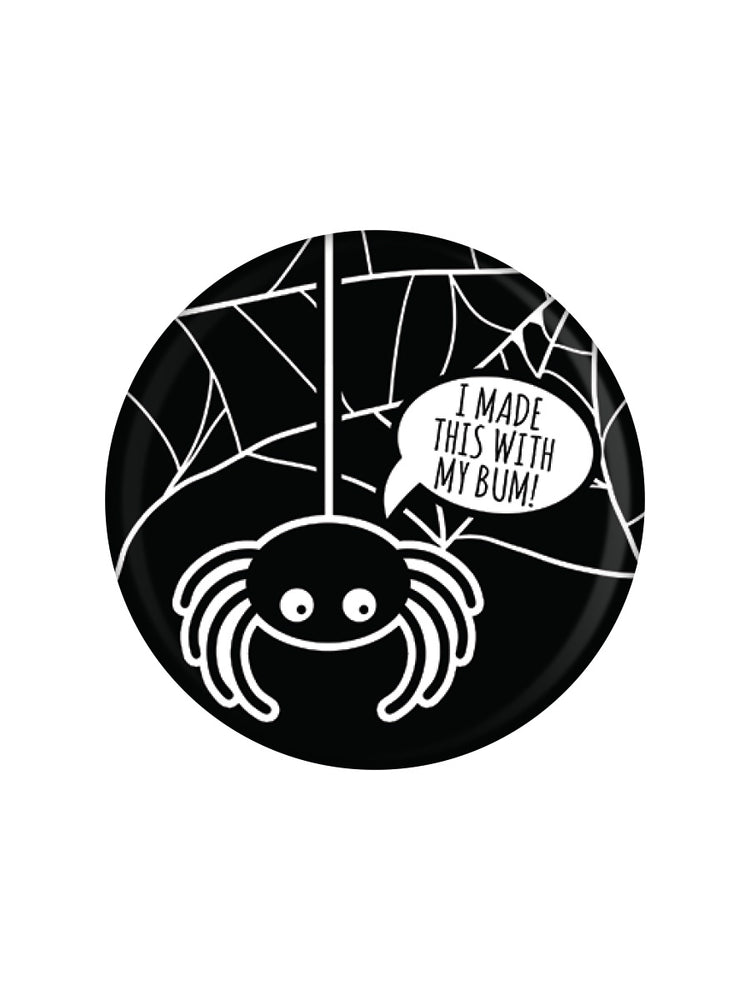 Cheeky Spider Badge