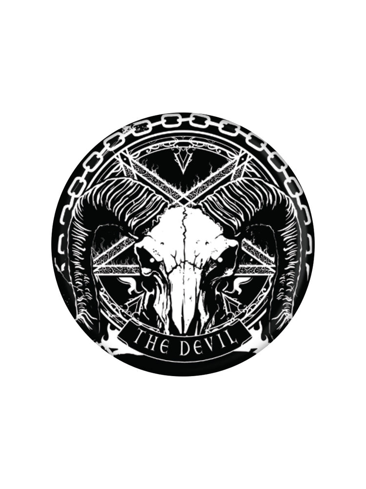 Deadly Tarot The Devil Badge