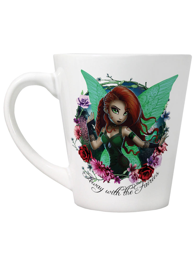Hexxie Saffron Away With The Fairies Latte Mug