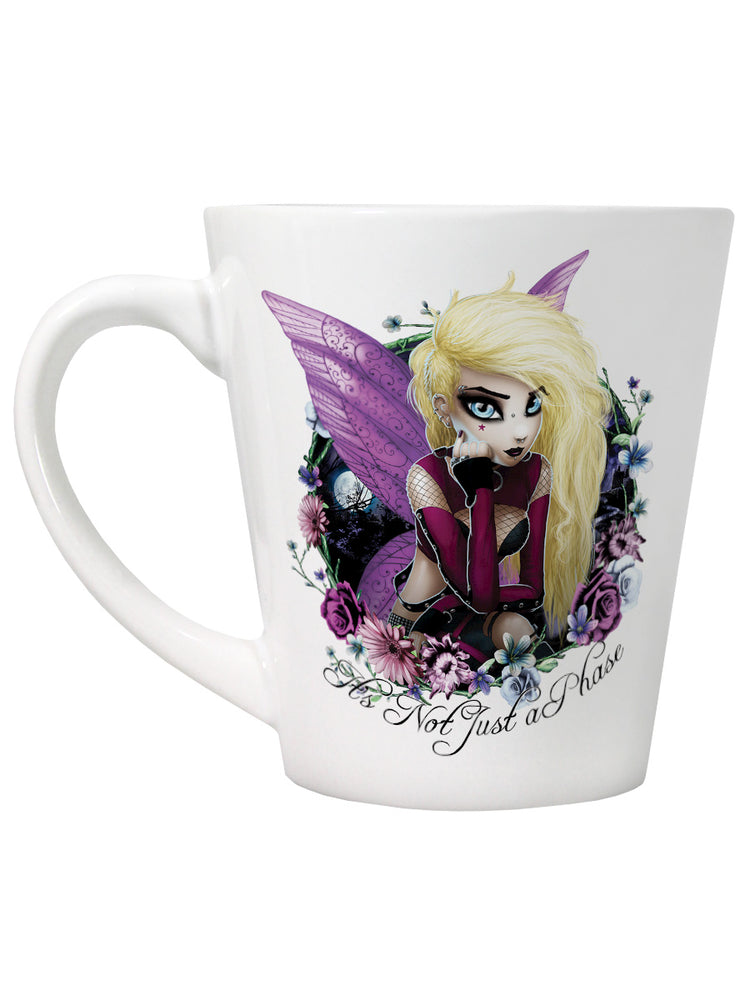 Hexxie Izzy It's Not Just A Phase Latte Mug