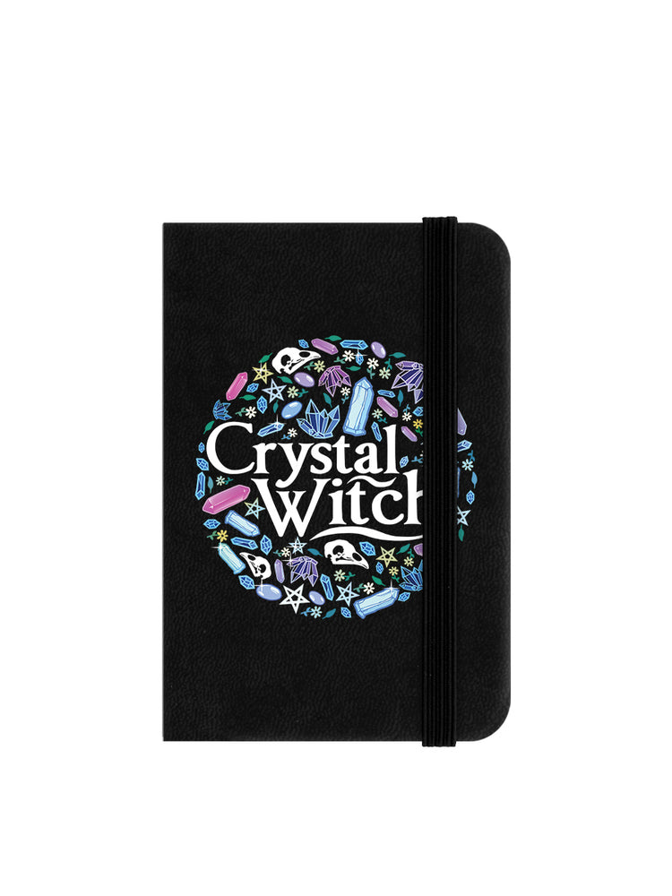 Crystal Witch Mini Black Notebook