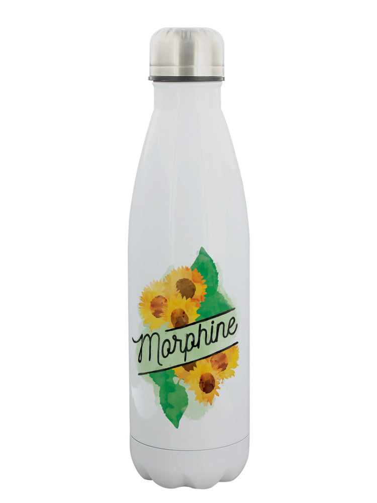Deadly Detox Morphine Stainless Steel Water Bottle