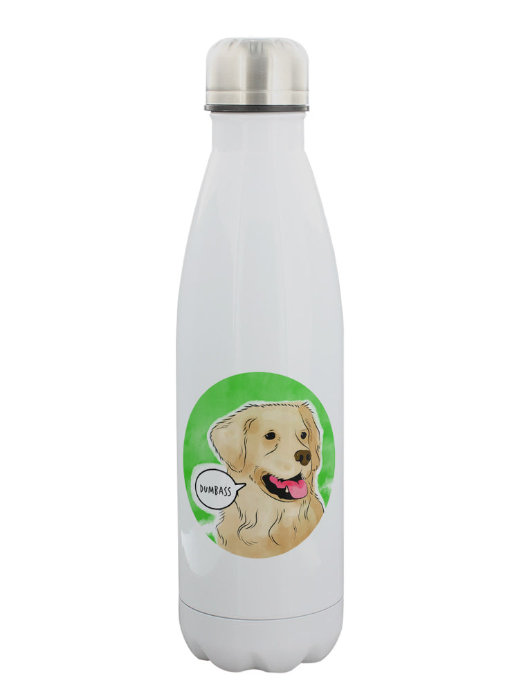 Cute But Abusive - Dumbass Water Bottle