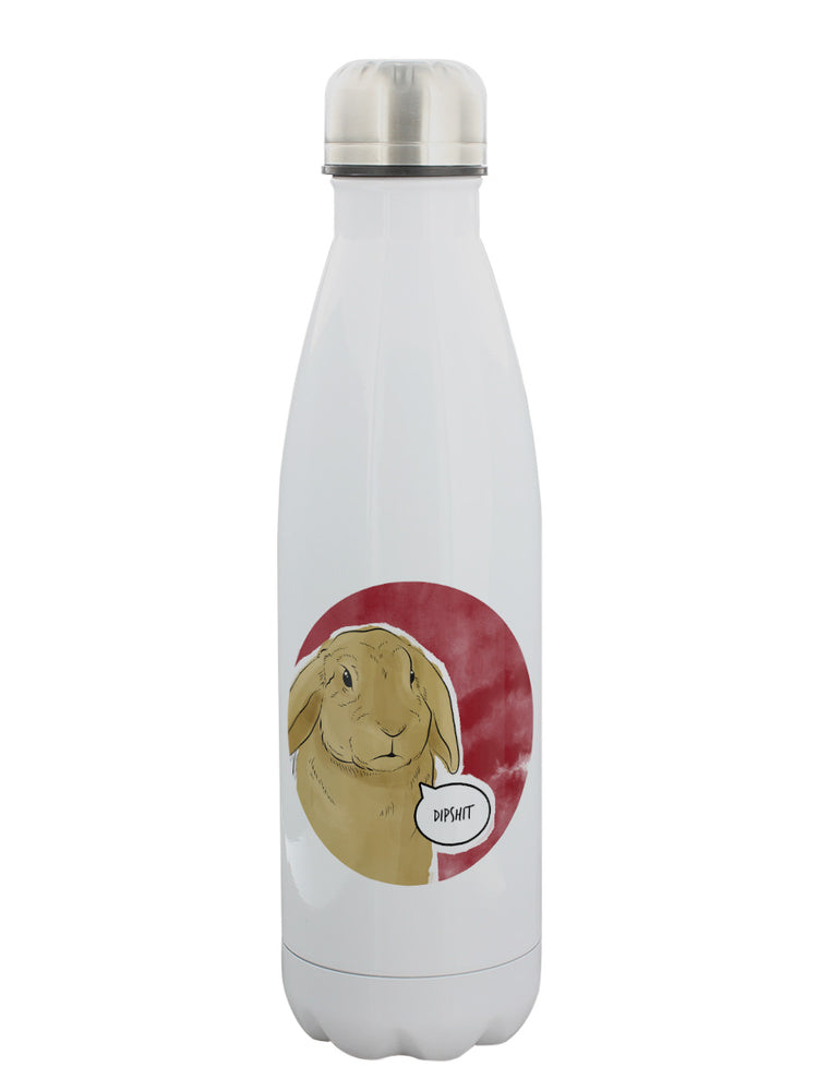 Cute But Abusive - Dipshit Water Bottle