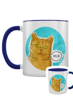 Cute But Abusive - Prick Blue Inner 2-Tone Mug