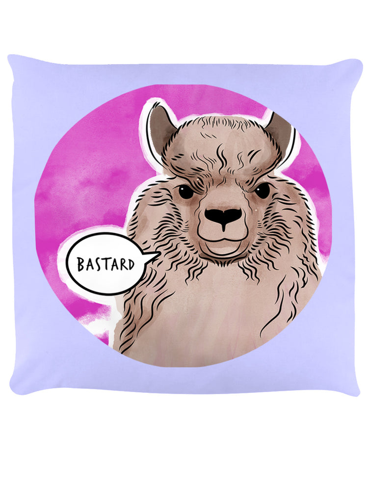 Cute But Abusive - Bastard Lilac Cushion