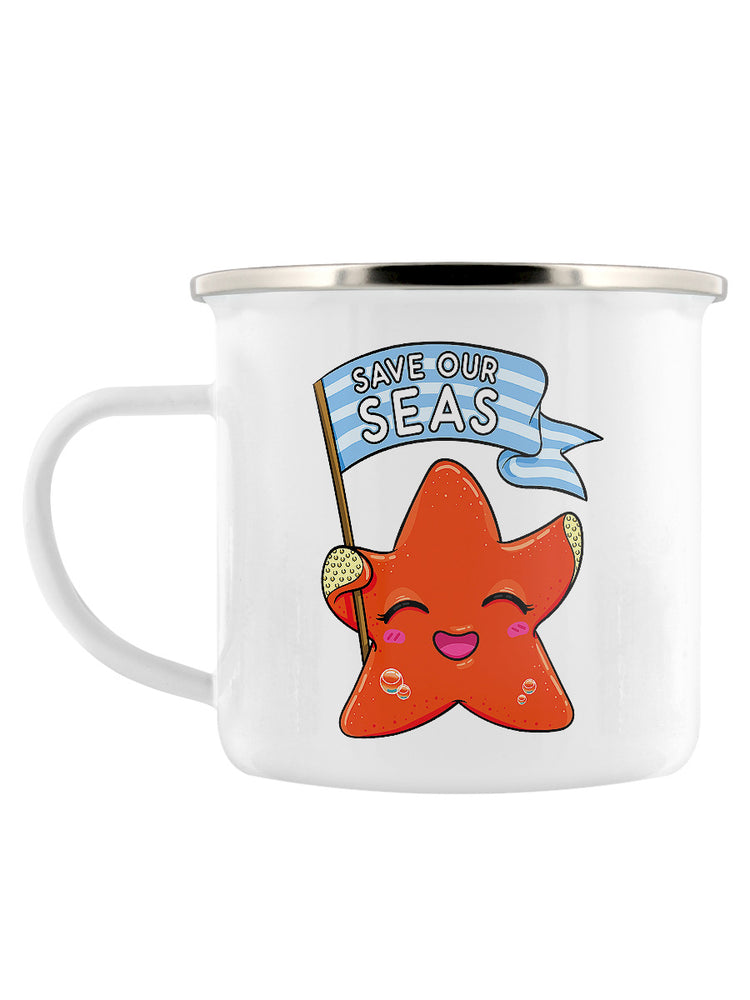 Save Our Seas Enamel Mug