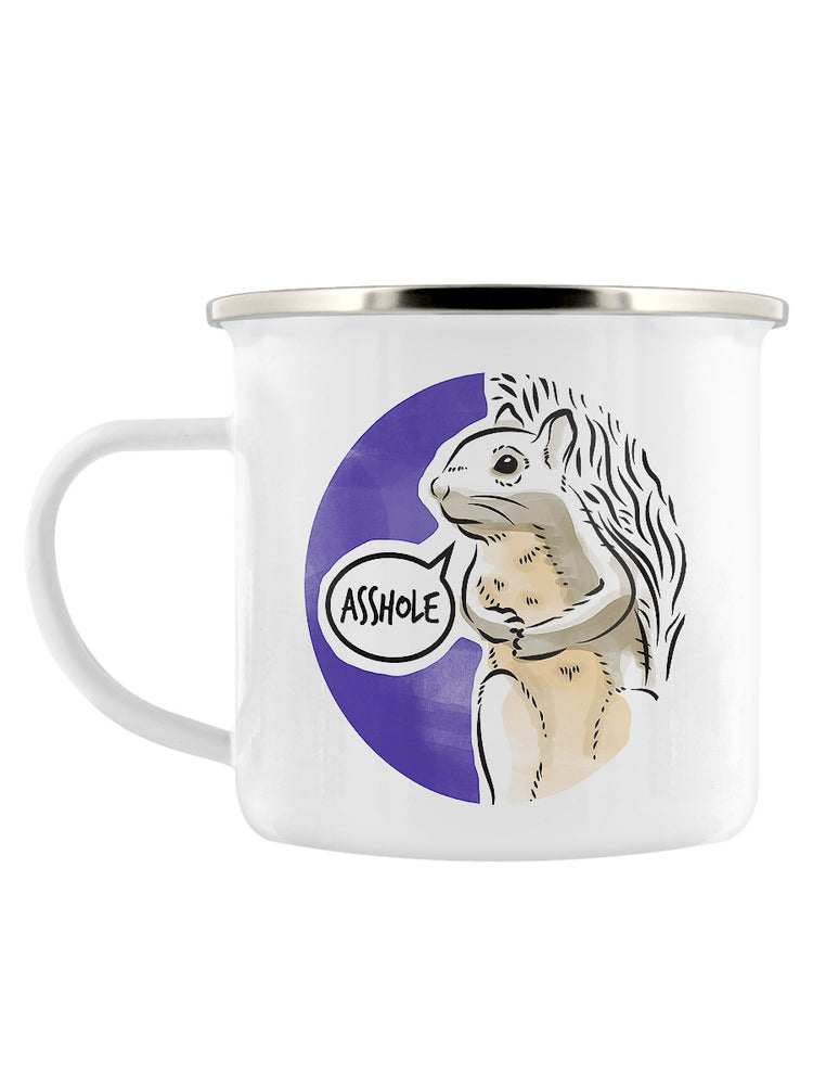 Cute But Abusive - Asshole Enamel Mug