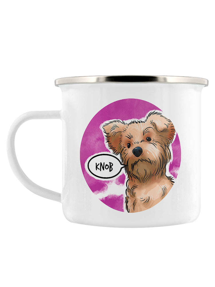 Cute But Abusive - Knob Enamel Mug