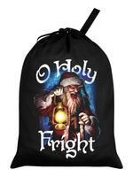 O Holy Fright Black Santa Sack