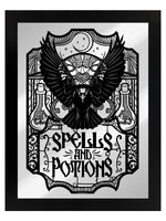Spells & Potions Mirrored Tin Sign
