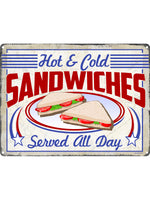 Sandwiches Tin Sign