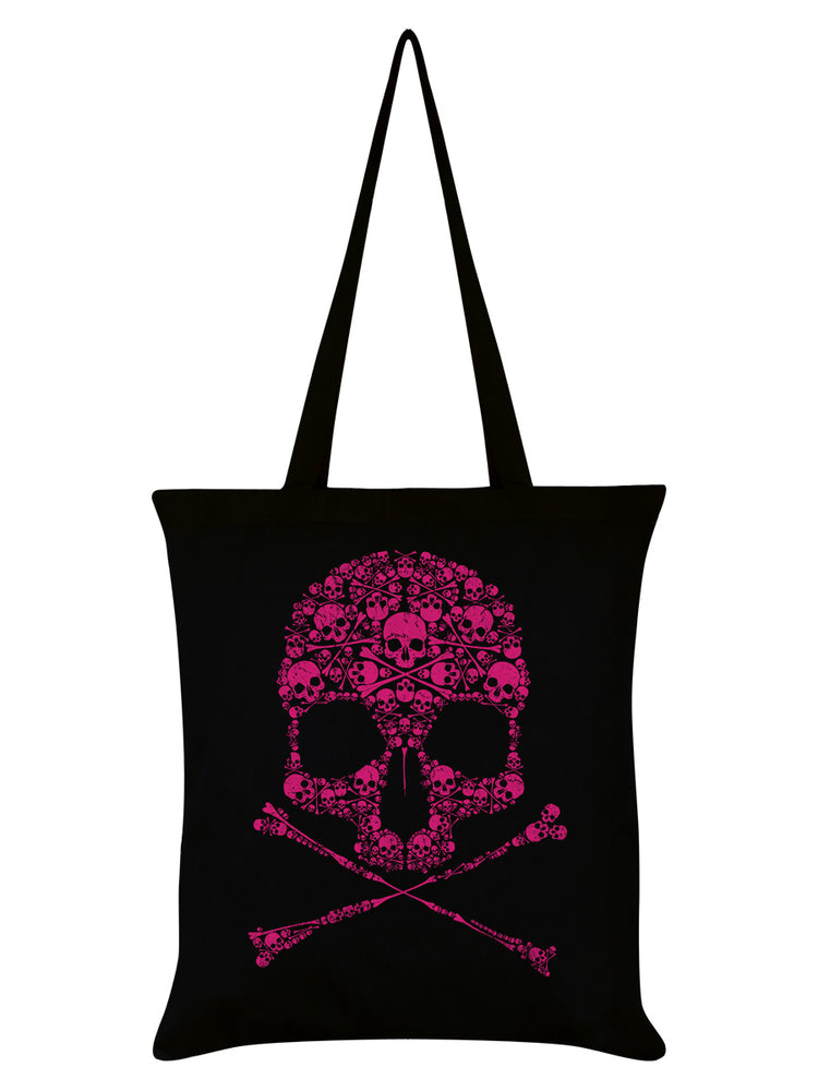 Unorthodox Collective Drip Skull Black Tote Bag