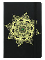 Emerald Mandala A5 Hard Cover Notebook