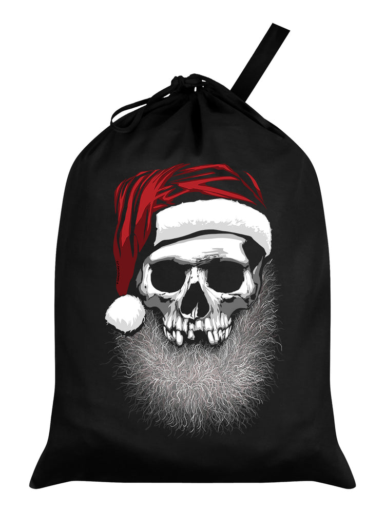 Muerto Christmas Black Santa Sack