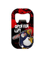 Psycho Penguin Open Him Up Mini Bar Blade Bottle Opener