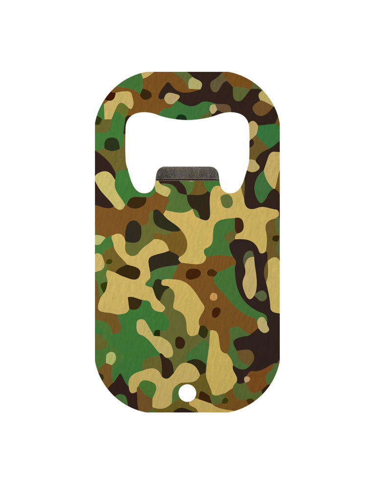 Camo Mini Bar Blade Bottle Opener