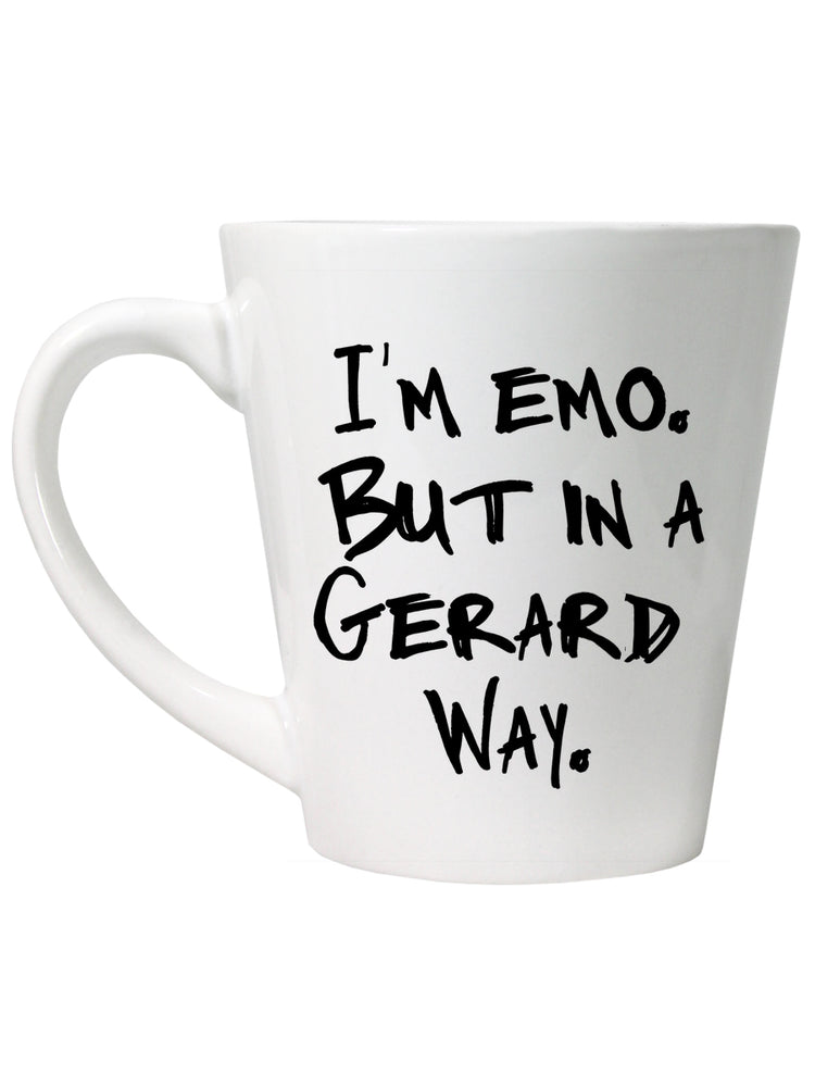 I'm Emo But In A Gerard Way Latte Mug