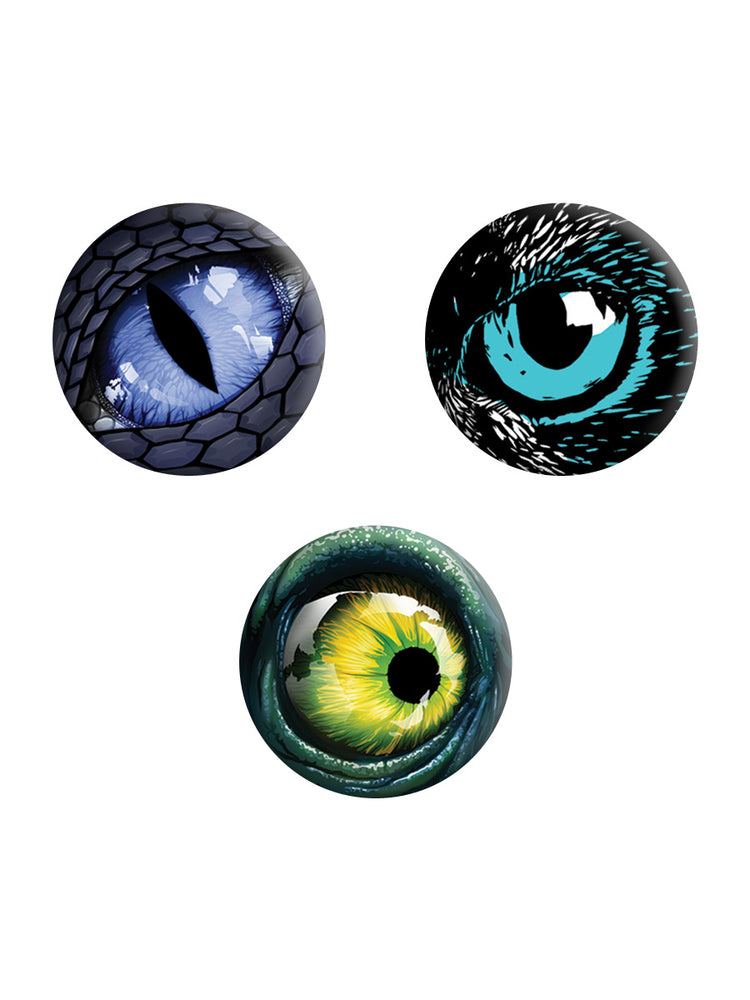 Eye Trio Badge Pack - Set Of 3