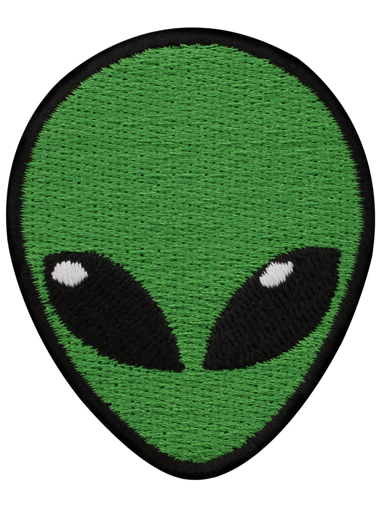 Alien Head Patch