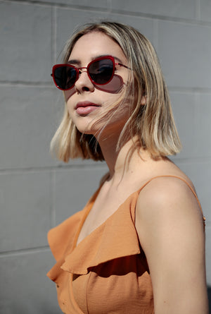 Billie Sunglasses - Scarlet