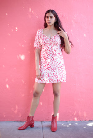 Rosy Sweetheart Dress