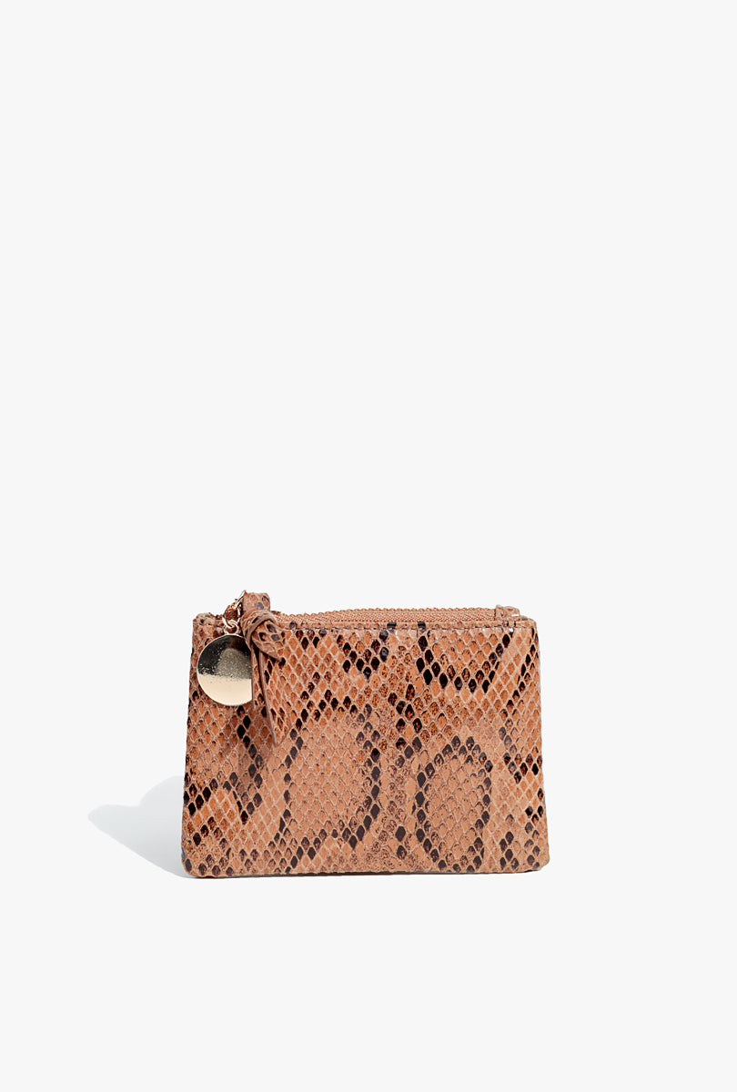 Snakeskin Coin purse